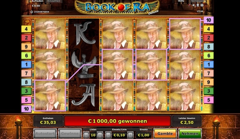 casino book of ra tipps