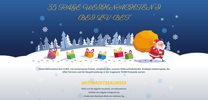 online casino weihnachtskalender
