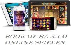 wo kann man noch book of ra online spielen