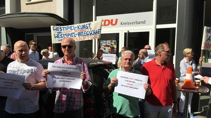 Privatisierung Westspiel Gruppe