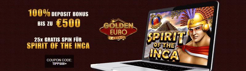 Gratis Spins GFolden Euro
