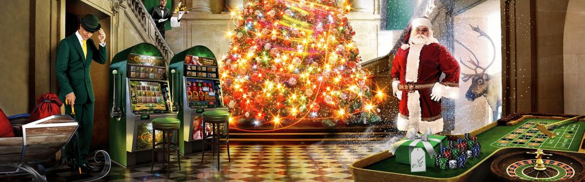 Weihnachts Aktion Mr Green
