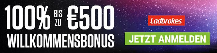 Ladbrokes Willkommens Bonus