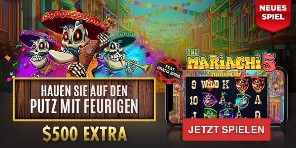 The Mariachi 5 - RTG Casino Spiele