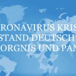 Coronavirus Krise - Deutschland