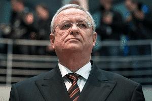 Anklage gegen Martin Winterkorn EX VW Chef