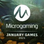 Neue Microgaming Spiele Januar 2021