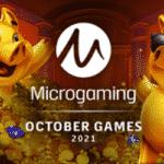 Neue Microgaming Spiele Oktober 2021